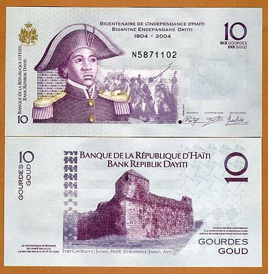 Haiti, 10 Gourdes, 2014, P-272-New, Commemorative, UNC