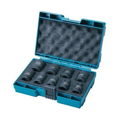 Makita D-41517 Impact Wrench Socket Set In Carrying Case 8-24Mm