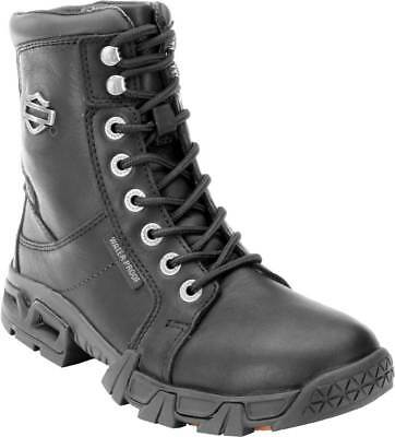 43f42ad11f3e Harley-Davidson Women s Elaine 5-Inch Waterproof Black Motorcycle Boots.  D87054