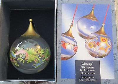 Classic Rose Collection Rosenthal Christmas Ornament