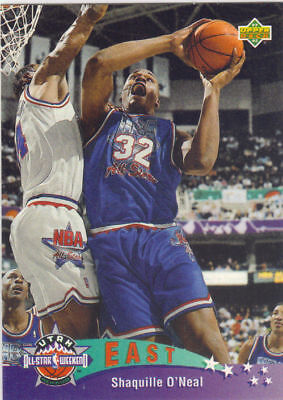 Shaquille O'Neal 1993-94 Italian UD All Star card #4