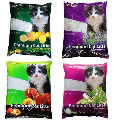 Sumo Cat Scented Litter 10L Clumping Eco Friendly Compostable Biodegradable Bio