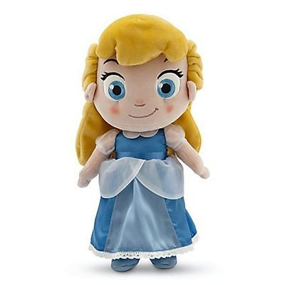 """12"""" Small CINDERELLA TODDLER PLUSH Doll Figure Toy DISNEY STORE AUTHENTIC"""