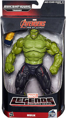 """Marvel Legends The Incredible Hulk Avengers Age Ultron 6"""" with Thanos BAF piece"""