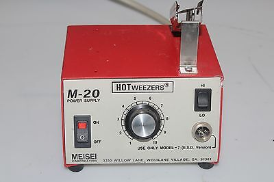 Meisei 3350 Hot Weezers M-20 Power Supply