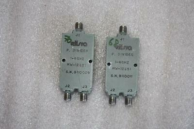 2 UNITS OF AEL POWER DIVIDER 1-4 GHz MW-12251