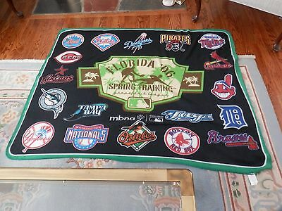 Florida Spring Training Blanket.46 by 60 inches Unused NICE!!