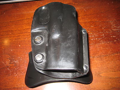 GALCO HOLSTER for GLOCK 19; RH PADDLE; EXCELLANT SHAPE; Nice Handgun Holster