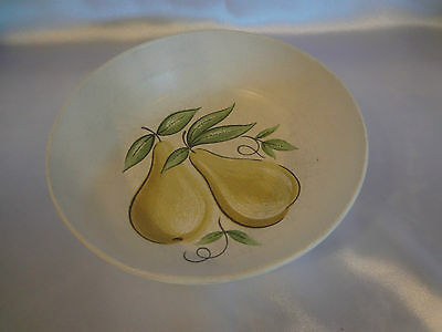 "Franciscan ""Fruit"" (Large Design) - 8"" Round Serving Bowl - Pear Design"