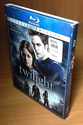 Twilight w/ Slip Cover Blu Ray Disc, 2009, Special Edition