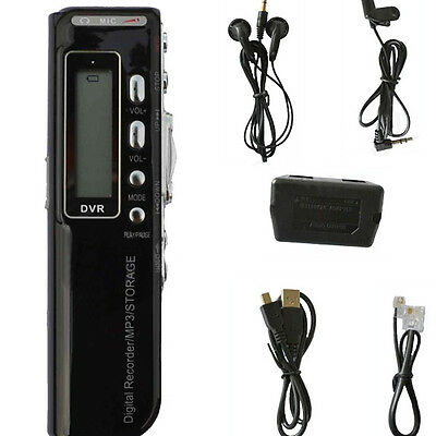 USB 4GB CL-R10 Cellphone Digital Audio Voice Recorder Dictaphone MP3 Player
