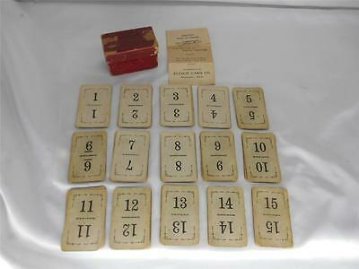 Antique 1913 FLINCH CARD Co. GAME Kalamazoo Mich 150 Cards Instructions COMPLETE