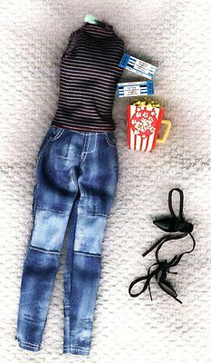 Life in the Dreamhouse Barbie  Pant Set,  Shoes - Genuine Mattel Items