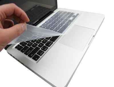 "Clear Protector Cover Universal Laptop Silicone Keyboard Skin for 10"" 14"" 17"""