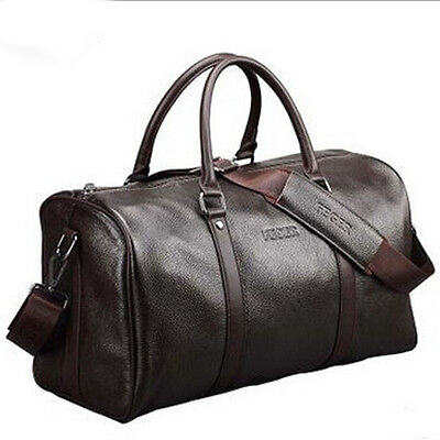 Men's Large Genuine Leather Duffle/Gym/Travel Bags Luggage Handbag Shoulder bags