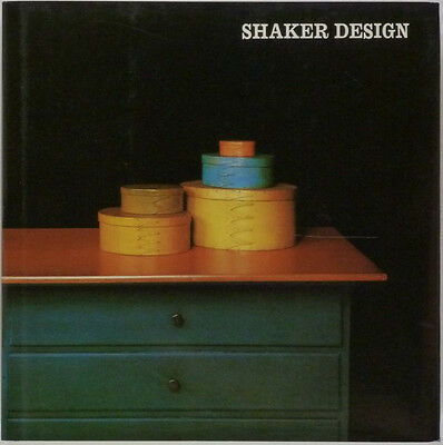 Book: Shaker Furniture & Tools & Textiles & Antiques - Whitney Museum Catalog