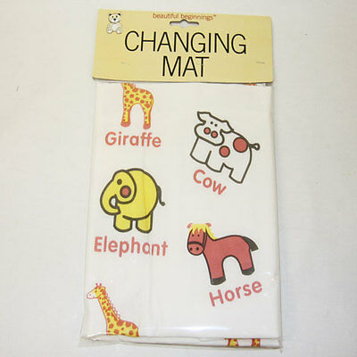 Large Soft Padded Baby Changing Mat Waterproof Wipe clean Nappy
