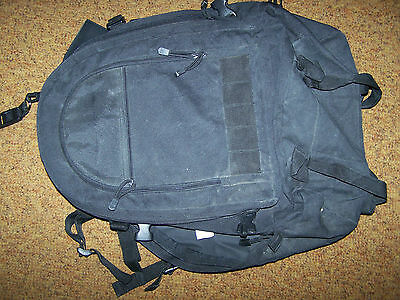 MOLLE BACKPACK, BLACK, PIPER GEAR MADE, U.S. ISSUE *COPY*