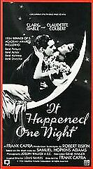 It Happened One Night [VHS] by Clark Gable, Claudette Colbert, Walter Connolly,