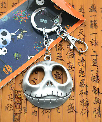 The Nightmare Before Christmas pendant keychain keyring