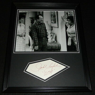 Isabel Sanford Signed Framed 11x14 Photo Display The Jeffersons Weezy Inscr