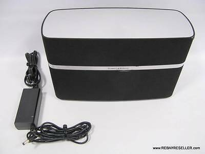 Bowers & Wilkins A5 AirPlay Wireless Music System Speaker w/Power Adapter Wi-Fi