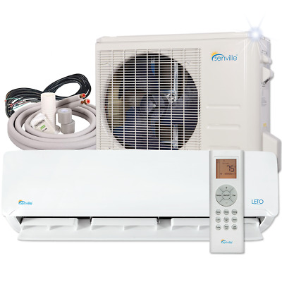24000 BTU Ductless AC Mini Split Air Conditioner and Heat Pump 15 SEER 2 TON