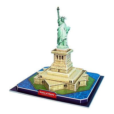 3D Puzzle 39 Piece New York City Ellis Island STATUE OF LIBERTY