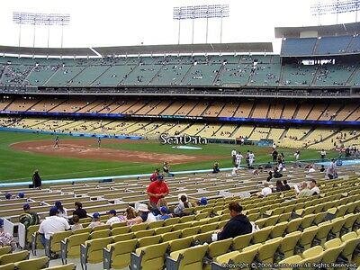 2 TICKETS SEATTLE MARINERS @ LA DODGERS 4/13 *INFIELD BOX Sec 39 Row A Aisle*