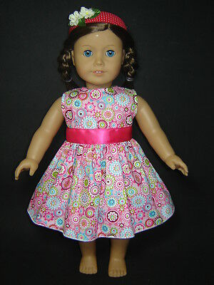 Beautiful Colorful Dreaming Dress fits 18'' American Girl Dolls Clothes AG326