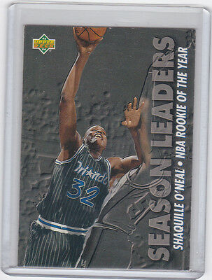 1993 - 1994 Upper Deck 177 Shaquille O'Neal Orlando Magic