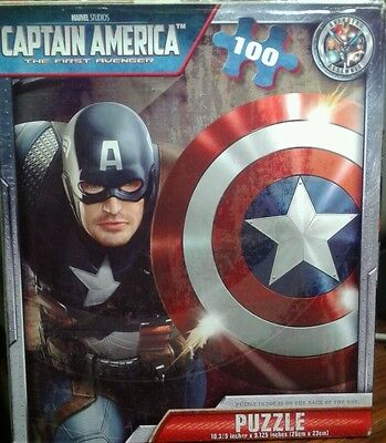 puzzle 100 pieces captain America the first avenger