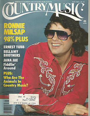 Ronnie Milsap Covers Country Music Magazine May 1980