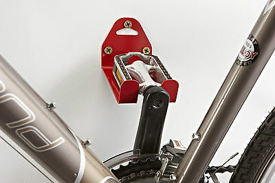 !NEW! Mottez Wall Bicycle Pedal Hook Storage STRONG Metal Tools Garage Shed Bike