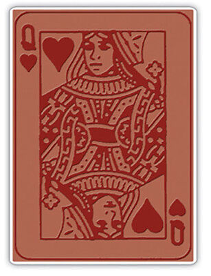 New Sizzix QUEEN OF HEARTS Embossing Folder Tim Holtz Alterations