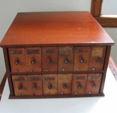 Wooden Practical Glove Holder Glove Display Case for General Store A.N. Russell