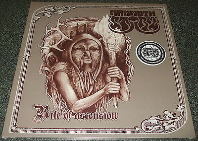 MAMMOTH STORM-RITE OF ASCENSION-2014 LP BLACK VINYL-100 ONLY-NEW & SEALED
