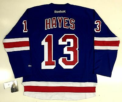 brand new f7fef 41cb6 KEVIN HAYES NEW York Rangers Reebok Nhl Premier Third Jersey ...