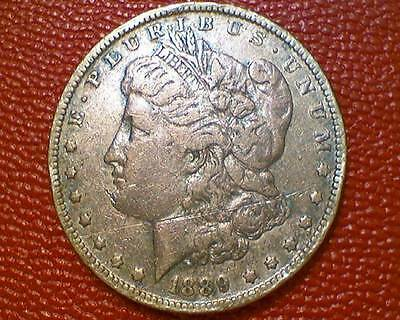 THE JOY OF COIN COLLECTING***1889 P MORGAN SILVER DOLLAR OLD DATE #ii65