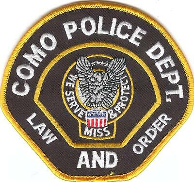 MISSISSIPPI  -  COMO  POLICE  DEPARTMENT     Patch
