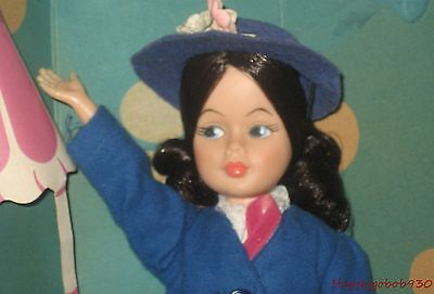 """Vintage Walt Disney's Mary Poppins 12"""" Doll Horsman Complete with Original Box"""