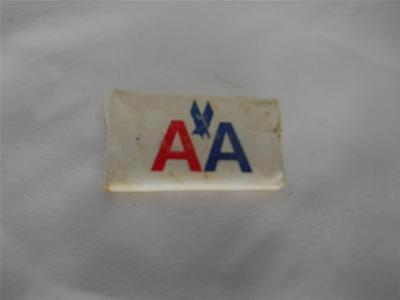Old Vtg AMERICAN AIRLINES Cashmere Bouquet SOAP BAR Advertising  UNOPENED NOS