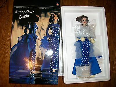 Evening Pearl Presidential Porcelain Barbie 1996 W/Shipper