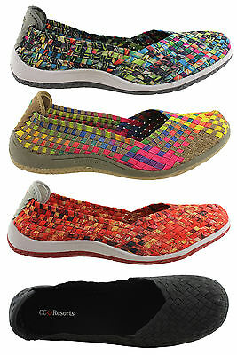 Cc Resorts Sugar Casual Shoes/sneakers/elasticized/woven/soft & Comfortable