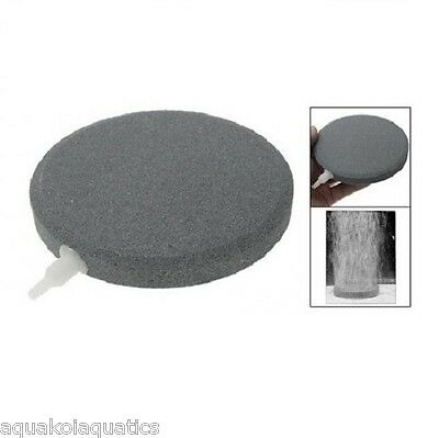 "Tr060 Ceramic Disc Large Airstone Diffuser Koi Fish Pond Air Stone 6"" 150Mm"