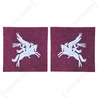 British Airborne PEGASUS PATCHES Paratrooper Para WW2 Uniform Shoulder Flashes