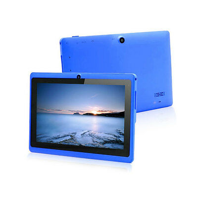 """Blue 7""""Google Android 4.2 A23 Dual Core Camera 4GB Tablet PC Wifi 1.5GHz MID ky1"""