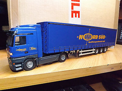 TEKNO MERCEDES WITH CURTAINSIDE TRAILER - NORD SUD