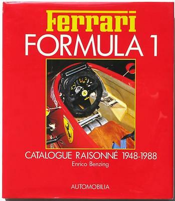 Ferrari Formula 1 Catalogue Raisonne 1948-1988 Enrico Benzing Car Book
