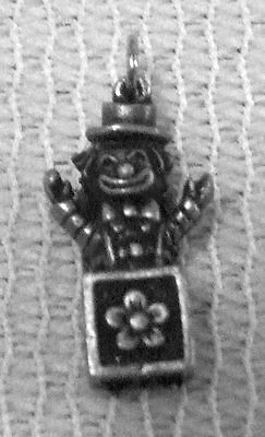 CHILD KIDS CHILDREN JEWELRY 12 JACK IN The BOX 3D PEWTER CHARMS All New.